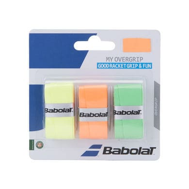 Babolat Surgrips My Overgrip x3 Jaune Orange Vert